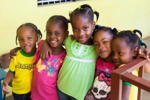 Students of Bluefields Basic School