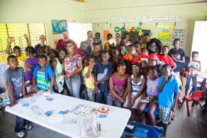 Kids of all ages gather at the school for special programming. This building truly serves the entire community!