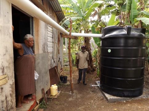 Rainwater Catchment System Installation 2018